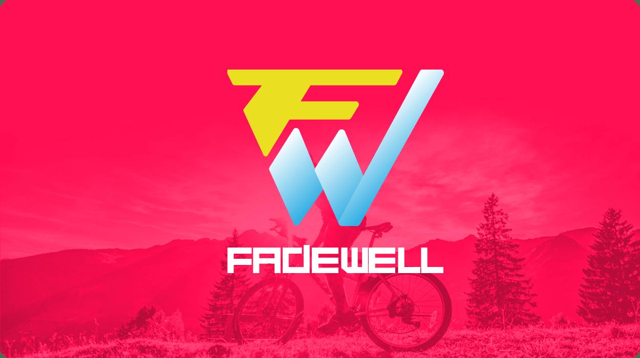 Логотип для спортивного магазина «FADEWELL»